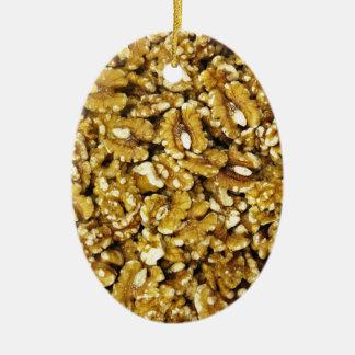 Walnuts Ceramic Ornament