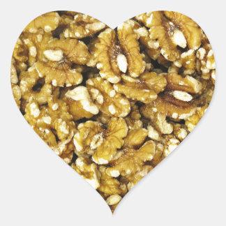 Walnuts Heart Sticker