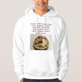 Walnuts mens hoodie