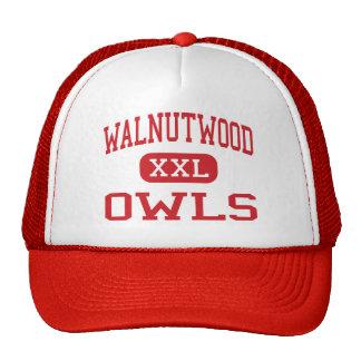 Walnutwood - búhos - alto - Rancho Cordova Gorra