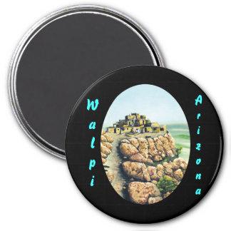 Walpi, Arizona 3 Inch Round Magnet