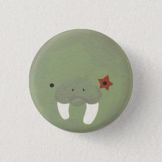 walrus 1 pinback button