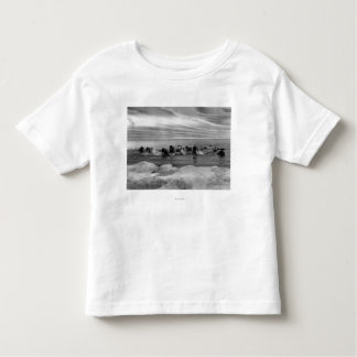 Walrus among the Ice Floes in Bering Sea Toddler T-shirt