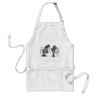 Walrus and Carpenter 1 Aprons
