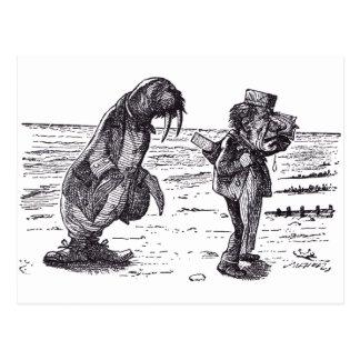 Walrus and Carpenter 1 Postcard