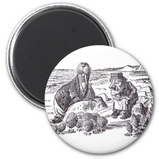 Walrus and Carpenter 2 Magnet
