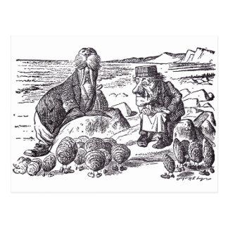 Walrus and Carpenter 2 Postcard