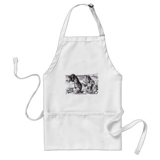 Walrus and Carpenter 3 Aprons