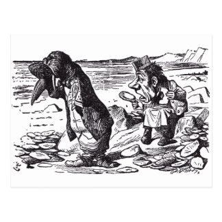 Walrus and Carpenter 3 Postcard