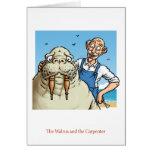 Walrus and Carpenter Card