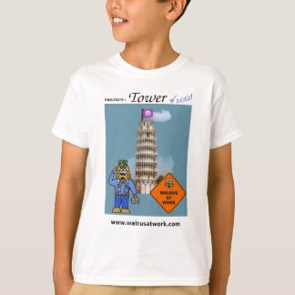 Walrus at Work Tower Project T-Shirt