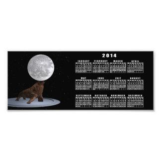 Walrus Balancing The Moon Photo Print