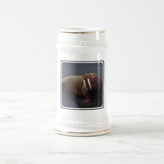 Walrus Beer Stein Mug