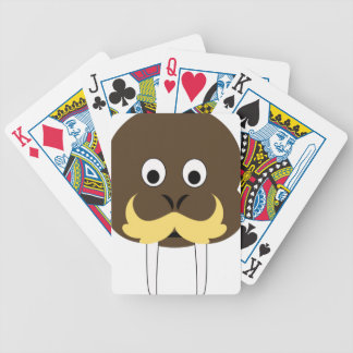 Walrus Bicycle Playing Cards