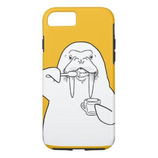 Walrus brushing its teeth iPhone 7 case