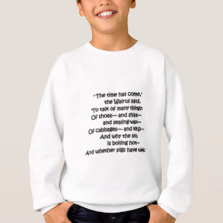 Walrus Cabbages Sweatshirt