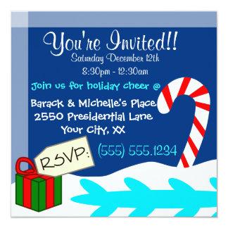 Walrus Christmas Invitation