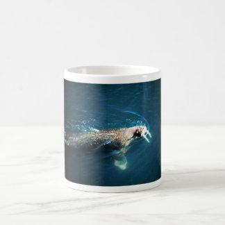 Walrus Classic White Coffee Mug