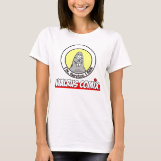 Walrus Comix Ladies Baby Doll (fitted) Shirt