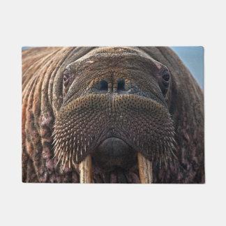 Walrus Face Doormat