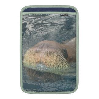Walrus Face MacBook Sleeves