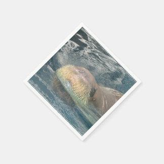 Walrus Face Paper Napkins