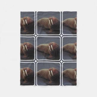 Walrus Fleece Blanket
