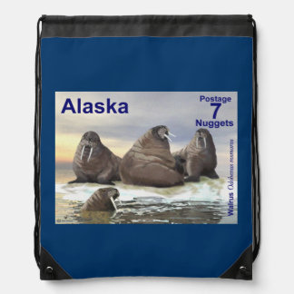 Walrus - Four Brothers Drawstring Bag