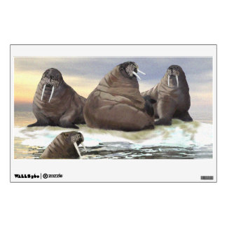 Walrus - Four Brothers Wall Sticker