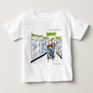 Walrus Frozen Food Section Funny Baby T-Shirt