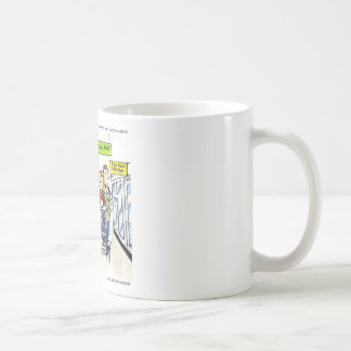 Walrus Frozen Food Section Funny Coffee Mug