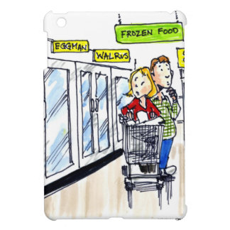 Walrus Frozen Food Section Funny iPad Mini Cover