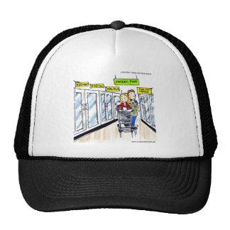 Walrus Frozen Food Section Funny Trucker Hat