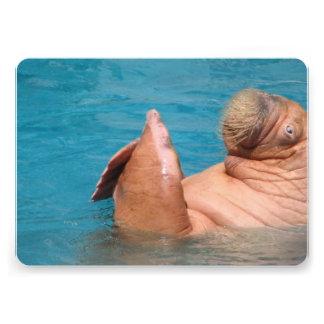 Walrus Invitations