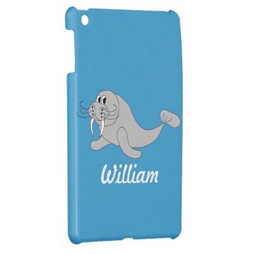 Walrus iPad Mini Case Template