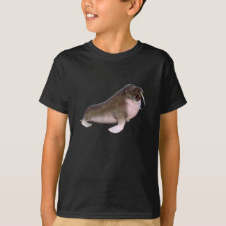 Walrus Looking to the Side T-Shirt