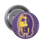 Walrus Man 2 Inch Round Button