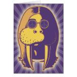 Walrus Man Card