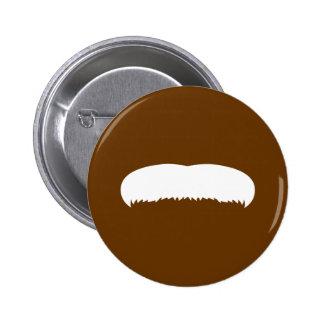 Walrus Mustache 2 Inch Round Button