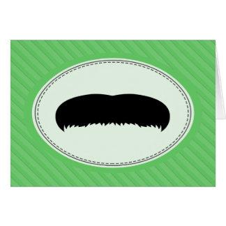 Walrus Mustache Card