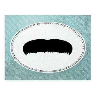Walrus Mustache Postcard