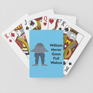 Walrus Pack of Cards