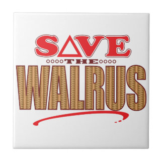 Walrus Save Ceramic Tile