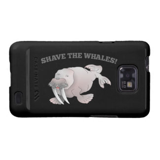 Walrus SHAVE THE WHALES Galaxy S2 Covers