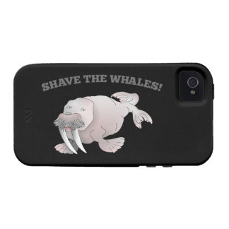 Walrus SHAVE THE WHALES Vibe iPhone 4 Case