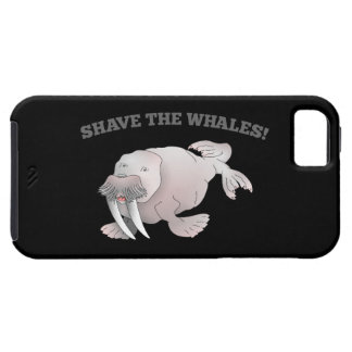 Walrus SHAVE THE WHALES iPhone 5 Cases
