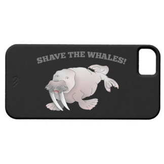 Walrus SHAVE THE WHALES iPhone 5 Cover