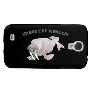Walrus SHAVE THE WHALES Samsung Galaxy S4 Case