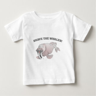 Walrus SHAVE THE WHALES Tee Shirts