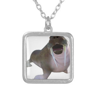 Walrus Silver Plated Necklace